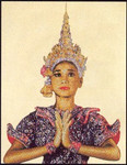 "GOK421 Thea Gouverneur Kit Thai Lady 18"" x 24"" Linen 25ct"
