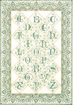 "GOK2050 Thea Gouverneur Kit Sampler In Green 21"" x 30""; Linen; 30ct"
