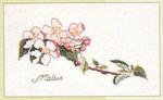 """GOK1048 Thea Gouverneur Kit Floral 9"""" x 5-1/2""""; Linen; 30ct"""