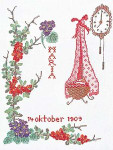 "GOK870 Thea Gouverneur Kit October 9.6"" x 13.6""; Linen; 30ct"