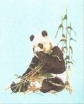 "GOK937 Thea Gouverneur Kit Panda Bear 16"" x 18"" ; Jobelan; 25ct"