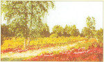 "GOK1051 Thea Gouverneur Kit Trees 8"" x 13""; Linen; 30ct"