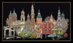 GOK450B Thea Gouverneur Kit Amsterdam Aida; 18ct