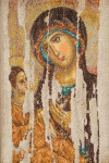 "GOK475 Thea Gouverneur Kit Mother of God 8.7"" x 13.2""; Aida; 18ct"