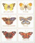 "GOK2037 Thea Gouverneur Kit Butterflies 14-1/2"" x 18""; Linen; 30ct"