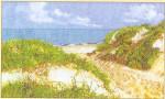 """GOK1052 Thea Gouverneur Kit Seascape 8"""" x 13""""; Linen; 30ct"""