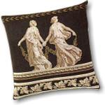 """GOK2054 Thea Gouverneur Kit Greek Pillow 15-1/2"""" x 15-1/2""""; Jobelan; 28ct"""