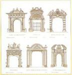 """GOK2053 Thea Gouverneur Kit Portals Arches 19"""" x 21-1/2""""; Linen; 36ct"""