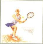 """GOK3031 Thea Gouverneur Kit Tennis 6"""" x 6-1/2""""; Linen; 36c"""