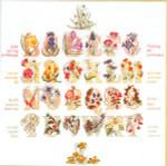 "GOK2025 Thea Gouverneur Kit Floral Alphabet Sampler 24"" x 23""; Linen; 30ct"