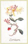 """GOK1049 Thea Gouverneur Kit Floral  5-1/2"""" x 9""""; Linen; 30ct"""