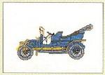 """GOK1057 Thea Gouverneur Kit Spijker 1907 6"""" x 4-1/2""""; Linen; 30ct"""