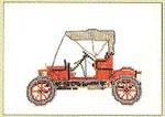 "GOK1056 Thea Gouverneur Kit Opel 1909 6"" x 4-1/2""; Linen; 30ct"
