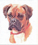 "GOK933 Thea Gouverneur Kit Dog Portrait 8-1/2"" x 10-1/2""; Linen; 25ct"