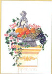 "GOK2026 Thea Gouverneur Kit Statue In Fruits & Vegetables 17"" x 24""; Linen; 30ct"