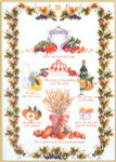 "GOK2027 Thea Gouverneur Kit Kitchen Sampler 22"" x 28""; Linen; 30ct"