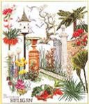 "GOK423 Thea Gouverneur Kit Lost Garden of Heligan 17"" x 21""; Linen; 36ct"