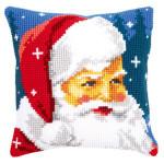 "PNV144705 Vervaco Kit Kind Santa Pillow 16"" x 16""; Canvas"