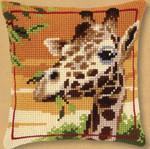 "PNV145345 Vervaco Kit Giraffe 16"" x 16""; Canvas; 18ct"