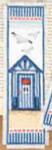 "PNV144278 Vervaco Kit Beach House - Bookmark 2.4"" x 8""; Aida; 14ct"