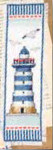 "PNV144279 Vervaco Kit Lighthouse - Bookmark 2.4"" x 8""; Aida; 14ct"