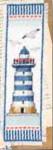 "PNV144279 Vervaco Kit Lighthouse - Bookmark 2.4"" x 8""; Aida; 14ct"