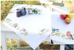 "PNV13042 Vervaco Kit Birds Tablecloth 32"" x 32""; Cotton; 10.5ct"