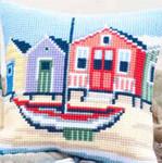 "PNV145640 Vervaco Kit Shoreline Cushion 16"" x 16"" Canvas"