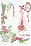 "GOK865 Thea Gouverneur Kit May 9.6"" x 13.6""; Linen; 30ct"