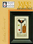 03-1806 Autumn Bird by Heart In Hand Needleart