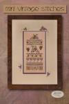 13-2605 Mini Vintage Grape Stitches by Jeannette Douglas Designs