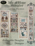 13-1370 Isle Of Hope-Ellis Island Sampler 41 x 339 Jeannette Douglas Designs