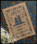 08-1519 Always & Forever by Little House Needleworks YT