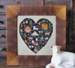 13-2456 Black Heart by Kathy Barrick 94w x 100h