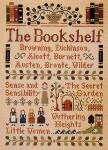 04-3323 Bookshelf, The by Little House Needleworks