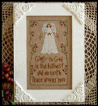 08-2534 Angels Sang, The by Little House Needleworks