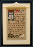 07-2876 Brave Hearts by Little House Needleworks