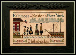 09-1019 Coming To America 162 x 102 Little House Needleworks