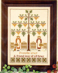 05-2802 Friendship Tree by Little House Needleworks