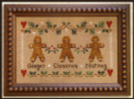 08-2327 Gingerbread Trio by Little House Needleworks