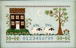 06-1702 Counting House, The by Little House Needleworks