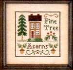 06-1703 Acorns & Pines by Little House Needleworks
