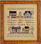 06-1080 Colonial Homes by Little House Needleworks