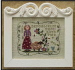 07-2377 Curly Q Ewe by Little House Needleworks YT