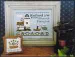 06-1987 Hannah Purington, Dear Diary by Little House Needleworks