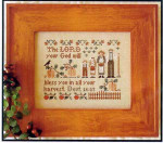 04-2841 Harvesters, The by Little House Needleworks