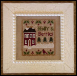 08-2328 Holly & Berries by Little House Needleworks