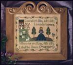 09-1982 Lavender's Blue 140 x 110 Little House Needleworks