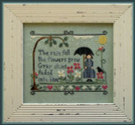 08-1854 Rain Fell, The by Little House Needleworks YT