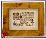 04-2840 Woodland Sampling by Little House Needleworks